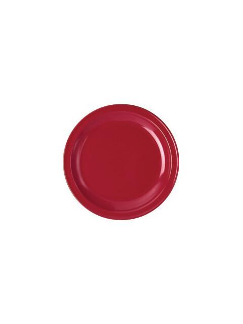 Waca Geschirr Colora Teller flach, rot